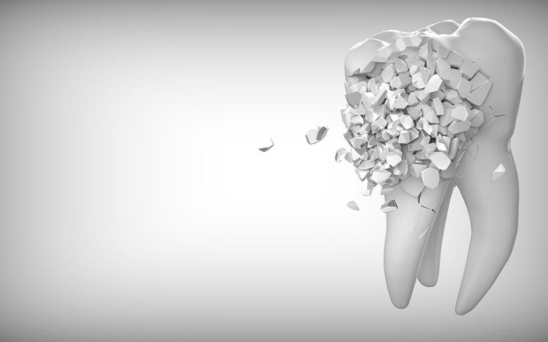 Illustration Zahn Zähneknirschen